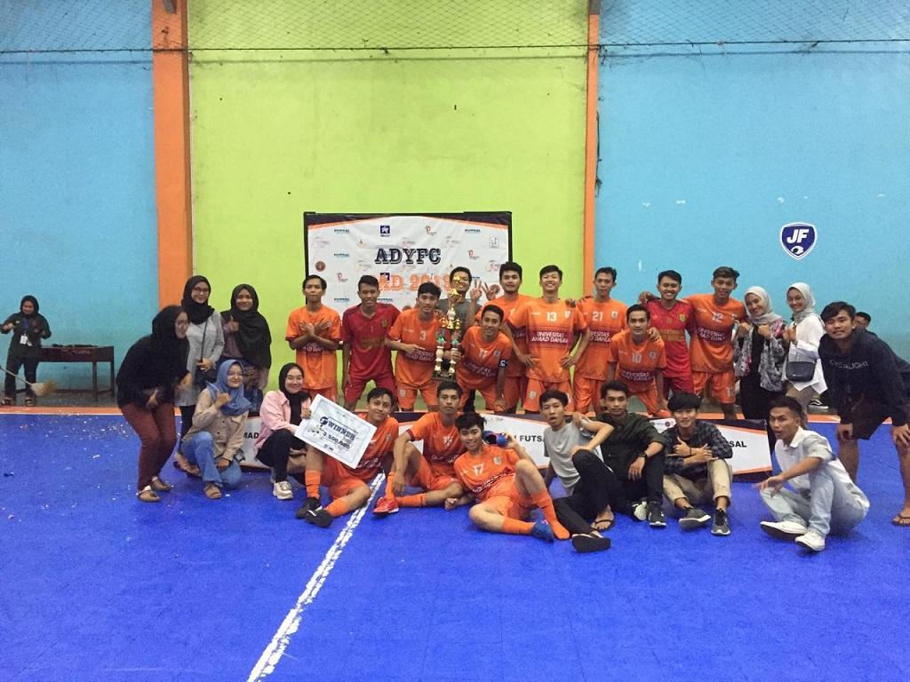 Tim-Futsal-UAD-Juara-2-Futsal-Competition-2019