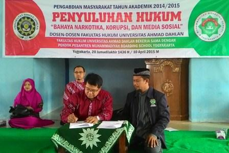 Fakultas Hukum UAD Jalin Kerjasama dengan Muhammadiyah Boarding School Yogyakarta.jpg