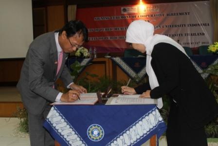 FKM UAD Tingkatkan Kejasama Internasional