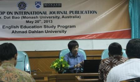 PBI UAD Adakan Workshop Publikasi Jurnal Internasional