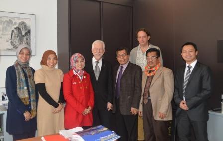 Kerja Sama UAD dengan Universitas Belanda dan Jerman