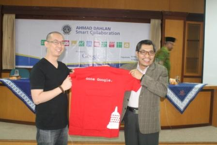 Launching Google Application Education For UAD