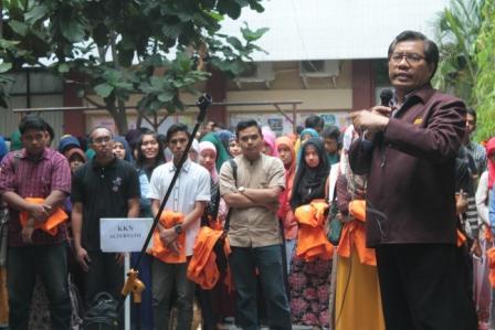 UAD Lepas Mahasiswa KKN ke Thailand