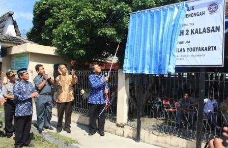 UAD Launching Sekolah Laboratorium (Labschool) di SMP 2 Muhammadiyah Kalasan