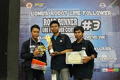 Dua Tim Robot UAD Raih Juara