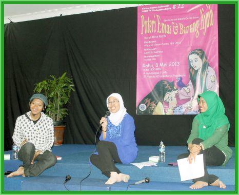 LSBO Muhammadiyah Gelar Bedah Buku Rina Ratih: Puteri Emas dan Burung Ajaib