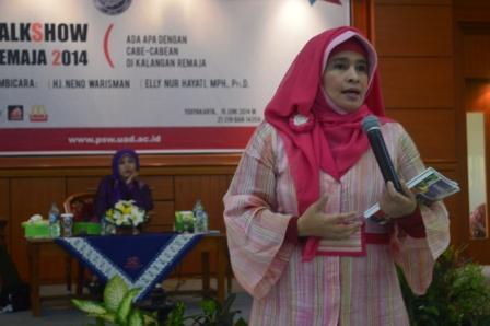 """Talkshow Remaja 2014 : """" Ada Apa dengan cabe-cabean di kalangan Remaja """""""