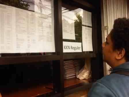 Pendaftaran KKN 2013/2014 Mencapai 493