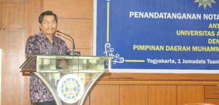 UAD Kerjasama dengan PDM untuk Mengembangkan sekolah muhammadiyah