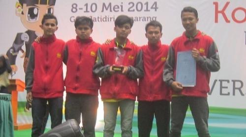 Tim Robot UAD Sukses Menyabet 3 Gelar Juara