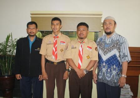 UAD Sambut Dua Tunarungu dari Makassar