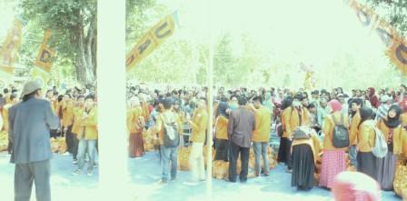 FKIP UAD Sumbang Rp 82,4. Juta untuk Warga Pulutan Gunungkidul