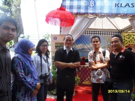 UAD Kenalkan Produk Kopi yang Berbeda di Indonesian Coffee Festival