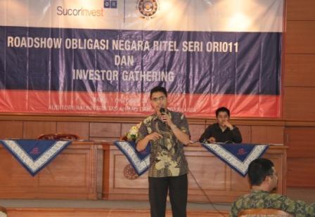 Seminar Fakultas Ekonomi: Investasi dengan ORI