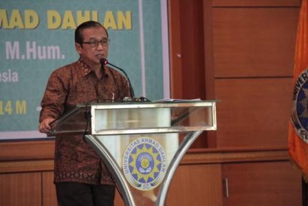 UAD Syawalan Bersama Ketua KPK RI